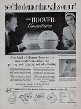 1957 Hoover Constellation Vacuum Cleaner Print Ad Clipping