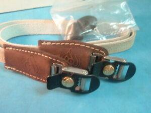 Cinelli Deluxe Laminated Leather NEW/NOS Toe Straps Road Vintage-Eroica- NIB+