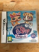 Nintendo DS Game Littlest Pet Shop Beach Friends INSTRUCTION BOOKLET INCLUDED