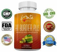 Amate Life Fat Burner Plus Natural Supplement - Promotes Weight Loss - 30 Caps