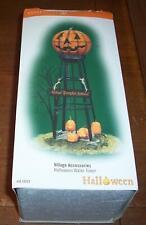 "Dept 56 Halloween Village Accessories Halloween Water Tower ""Box Only"""