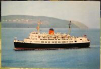 Isle of Man Steam Packet Company Transport Ship SS Ben-my-chree - unposted