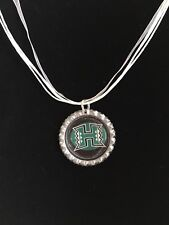 COLLEGE FANS!!  University of Hawaii WARRIORS Necklace