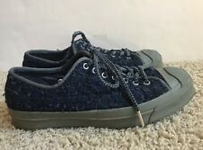 Converse Jack Purcell Men's 9.5 Women's 11 Leather Upper Low Top Sneakers Shoes