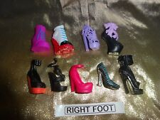 Monster High Doll  Odd Shoes to match yours  £1 per TWO odd shoes.
