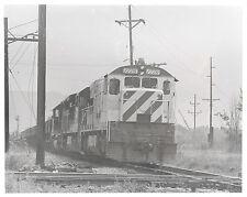 a Bicentennial 1776 diesel engine somewhere in America 8X10 b&w photo