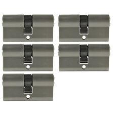 5x Profilzylinder 60mm 30/30 25x Schlüssel Tür Zylinder Schloss gleichschließend
