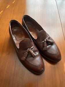 Alden Leather Tassel Loafer (9.5)