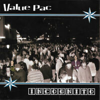 VALUE PAC - INCOGNITO (*NEW-CD, 2000, Four Door) Christian Punk Rock Rare!