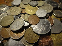 100 Foreign World Coin Lots (No Mexico or Canada Coins)
