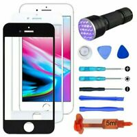 LCD Front Glass Panel Screen Cover Tools For iPhone 4 5 6 7 8 S X XR XS Plus Max