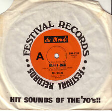 """THE 69'ERS - HARRY RAG / HAPPINESS IS JUST FOR ME 1972 OZ 7"""" VG+ COND THE KINKS"""