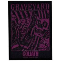 Graveyard Goliath Patch Official Metal rock Band Merch
