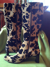 Ladies leopard print boots by Via Spiga (9.5) made in Italy