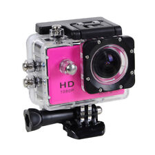 Action Cam with Wifi 1080P Full HD  Sports Bicycle/helmet/Car mount(Pink)