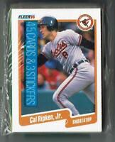 Cal Ripken Jr * Jose Canseco LS - 1990 Fleer Rack Pack - Sealed - New - Unopened