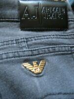 GB26)  MENS AJ ARMANI BLACK STRAIGHT JEANS WAIST 30 LEG 30 ZIP FLY