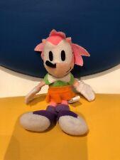 Sonic Hedgehog Peluche Raro Amy Rose The Llavero 1996 oficial Sega japonés