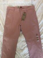 Levi's XX Chino Standard Taper Pants Pink mens size 34x34 NWT