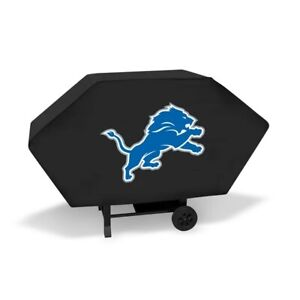 """DETROIT LIONS ECONOMY GRILL COVER  VINYL 68"""" BBQ COVER FREE SHIPPING"""