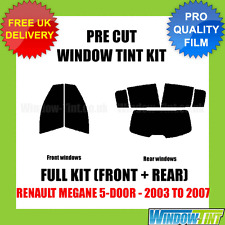 Renault Trafic 2002 to 2006 20% Dark Tint Car Accessories PSSC Pre Cut Front Car Window Films