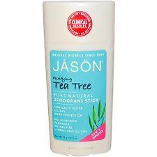 Jason Tea Tree Deodorant Stick Aluminium Free Multi buy x3