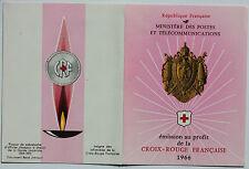 CARNET DE 8 TIMBRES - EMISSION AU PROFIT DE LA CROIX-ROUGE FRANCAISE - 1966