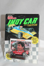 Scott Pruett 1989 Racing Champions Indy Car with Card, Mint  1/64 Scale
