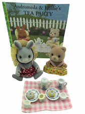 Calico Critters Sylvanian Families Andromeda & Hollie's Tea Party Flair Epoch