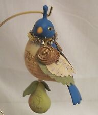 2011 HALLMARK - PARTRIDGE IN A PEAR TREE - 1ST IN 12 DAYS OF CHRISTMAS  - MIB