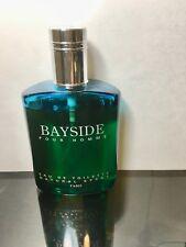 Bayside Pour Homme by Perfumel Bayside for Men  3.4 oz EDT Spray 80% Full RARE