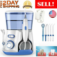 Waterpulse Electric Water Jet Pick Flosser Oral Irrigator Teeth Dental Clean