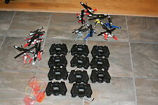 AIR HOG RC HELICOPTER LOT FLYERS AND PARTS ALL AS A GROUP  LOT 2