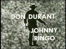 JOHNNY RINGO COMPLETE 38 EPISODES 1959  TV WESTERN SERIES ON 10 DVDS