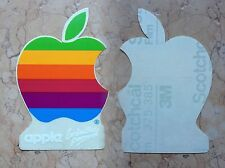 APPLE ORIGINAL STICKER VINTAGE 3M SCOTCHCAL STEVE JOBS COMPUTER iPHONE iPAD iMAC
