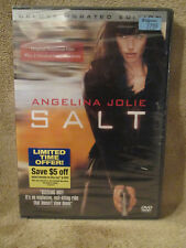 Salt (Deluxe Unrated Edition) Angelina Jolie DVD New, Factory Sealed