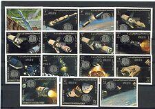 Königreich Jemen MiNr 935B-949B Apollo-Programm Erforschung des Mondes Apollo 12