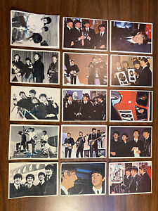 Beatles 1960's Trading Cards Lot Of 15