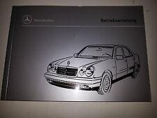 Betriebsanleitung Mercedes E Klasse  ( E 210 )