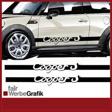 Aufkleber /  Sticker / Seitenbeschriftung / Dekor / Mini Cooper / #056