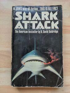 Shark Attack by H. David Baldridge 1979 Jaws