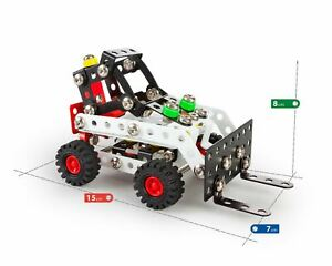Construction Model Vehicle Toy Wheel Loader Digger Build Your Own Kids Age 8+