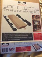 Loft Ledge Truss Shelving Kit 3 Piece Chipboard Shelves New Collection Purley