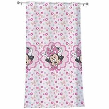 Cti 043267 Disney Minnie Stylish Voilage À Œillets Rose 140 x 240 cm