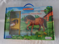 Schleich - Mein Tierspielbuch - Komm mit, kleines Pferd! Pappbuch mit Figur OVP