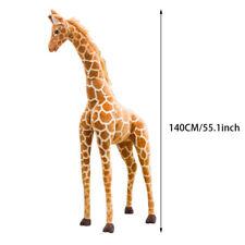 60-140cm Large Plush Giraffe Doll Giant Stuffed Animals Soft Kid AppeaseToy Gift