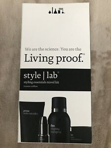 New in Box Living proof style lab styling essentials travel kit