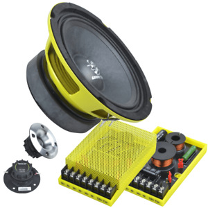 Ground Zero GZCC 165.2SQL 165 mm 2-Wege Komponenten-Lautsprechersystem NEU PAAR