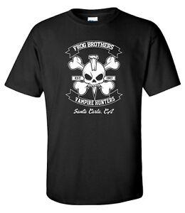 Frog Brothers Vampire Hunter Lost Boys 80s Cult Horror Movie Mens T-Shirt
