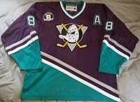 *RARE* CCM Mighty Ducks Teemu Selanne Tribute Night Jersey #31/300 Size XXL